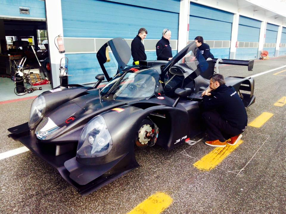 Autódromo de Estoril – Test pretemporada Ligier LMP3