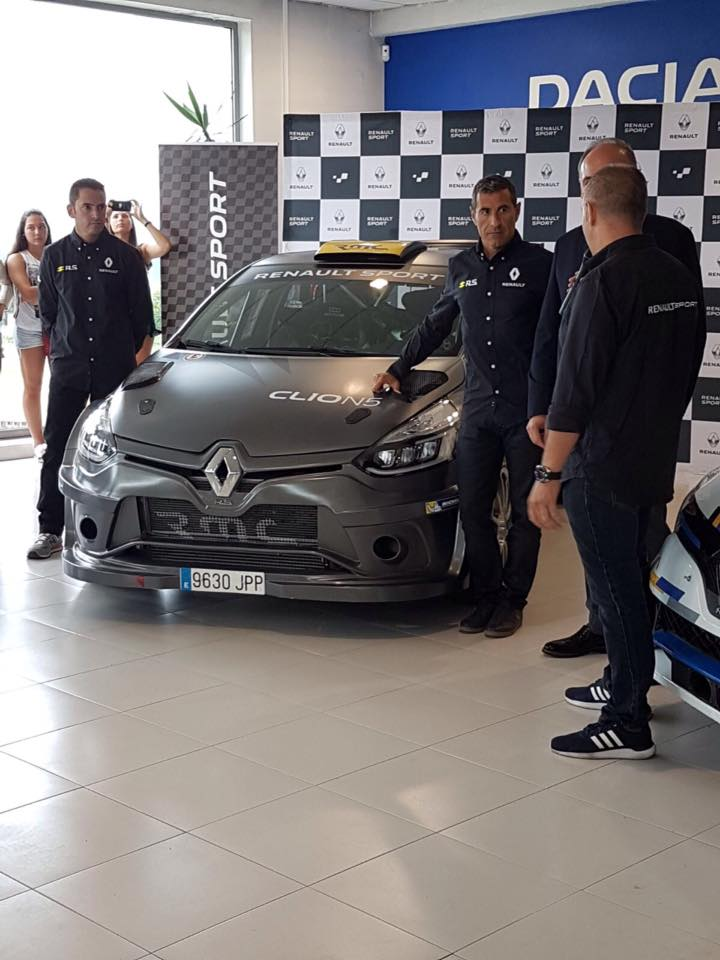 Presentación nuevo Renault Clio N5 – Rally de Ferrol