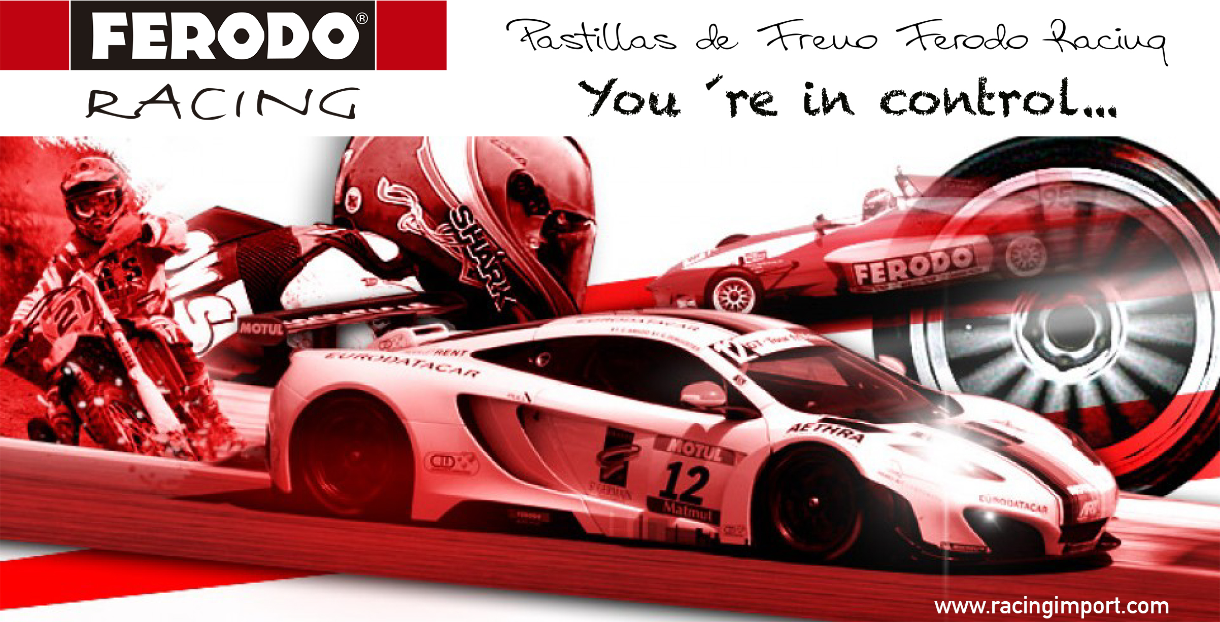 Pastillas de Freno Ferodo Racing