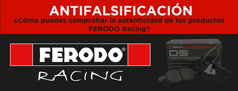 How to confirm that your Ferodo Racing product is Authentic