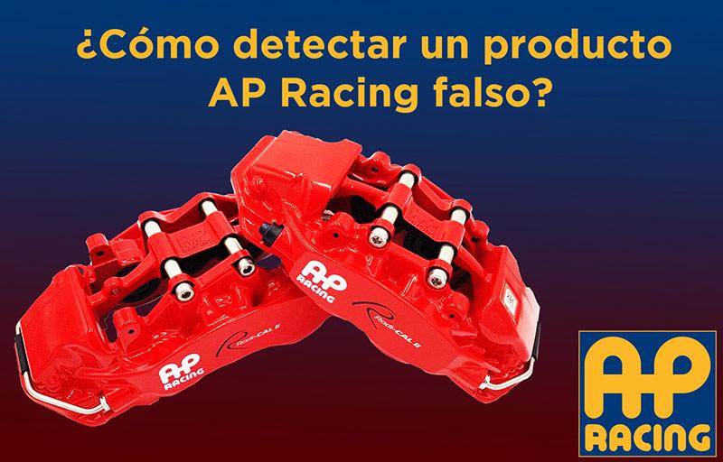 Cómo detectar un producto AP Racing falso