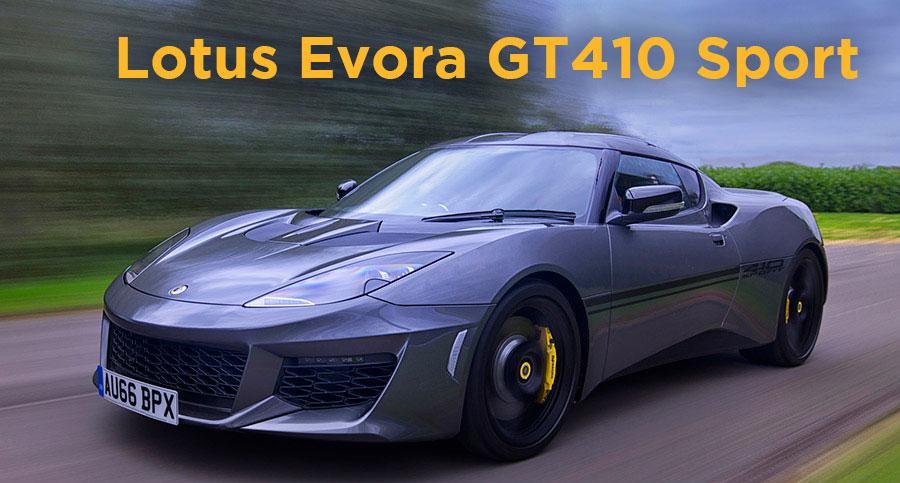 Nuevo Lotus Evora GT410 Sport