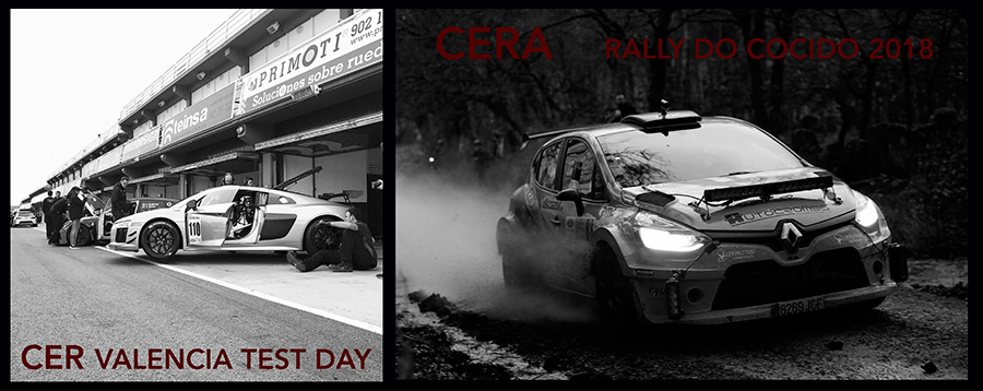 CER Test Day Valencia y CERA Rally do Cocido