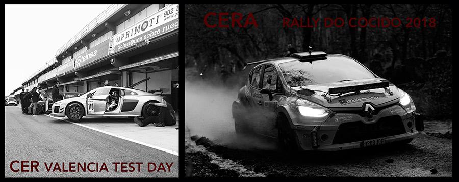 CER Test Day Valencia y CERA Rally do Cocido