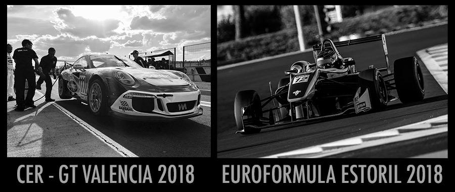 Euroformula Estoril y CER GT Valencia 2018