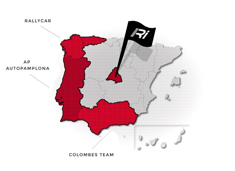Distribuidores Racing Import Mapa